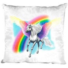 Dekokissen Kissen mit Fuellung 40 x 40 cm Pegasus K 12663 weiß