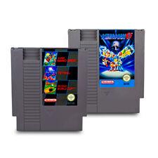 Nintendo 2 Nintendo Es - Nes Spiele 3 in 1 + Mega Man / Megaman 3