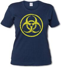 CDC BIOHAZARD LOGO GIRLIE SHIRT -  Del Toro Vampire Strigoi TV The Strain Shirt
