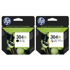 HP No 304XL Alta Capacidad Negro Y Color OEM Cartuchos De Inyección De Tinta