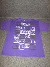 Hombre Auténtico DC Moda Informal skate bmx MX Camiseta S M L XL XXL Lila { 72 }