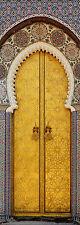Adhesivo de puerta decoración trampantojo l'ojo puerta oriental ref 621 4 Tallas