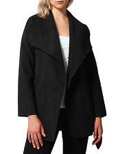 NE PEOPLE WOMEN'S Drape Front Belt Waist Trench Coat Cardigan NEWJ126
