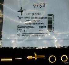 1 x SMA-einloch-enchufe hembra (Crimp) para aircell 5 (m3549)