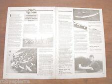 Pubblicità articolo 1989 chas gardiner covers the full spectrum of slope soaring