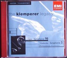 Otto KLEMPERER: TCHAIKOVSKY Symphony No.5 HAYDN No.98 Sinfonie EMI CD
