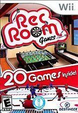 Rec Room Games Nintendo Wii -- CIB