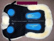 STEPHENS Sheepskin GEL EZE Cushion Gelee Fish Front Rear Back Comfort Saddle Pad