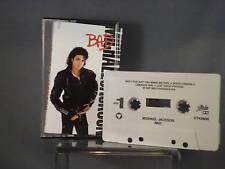 Michael Jackson Bad Cassette 10 Track Rare