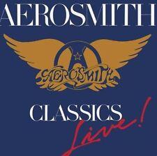 AEROSMITH - CLASSICS LIVE  NEW CD