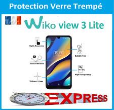 Pour Wiko View 3 Lite - vitre protection verre trempé film protecteur écran