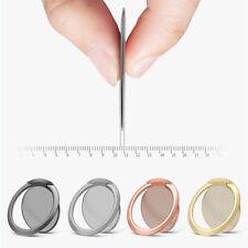 Ultra Thin Finger Ring Stand Holder For Cell Phone Tablet Kickstand Desktop