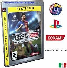 PRO EVOLUTION SOCCER 2009 PES PLATINUM PS3 NUOVO ITA PS3