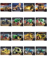 Mauspad mit Motiv: Traktoren und Baumaschinen Mousepad Handauflage BIG MACHINES