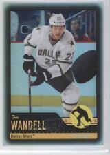 2012-13 O-Pee-Chee Black Rainbow Foil #366 Tom Wandell Dallas Stars Hockey Card