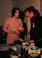 Paul McCartney & Derek Taylor, Press Officer, Typewriter -- Beatles Trading Card