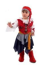 Disfraz pirata niña infantil talla 2 3 años