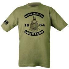 1664 ROYAL MARINES COMMANDO T-SHIRT MENS S-2XL UNION JACK ARMY BRITISH NAVY