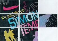 THE SAINT, SIMON TEMPLAR SINGLE CARDS
