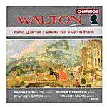 WALTON: PIANO QUARTET; SONATA FOR VIOLIN & PIANO (NEW CD)