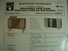 C644/ Blaupunkt-Heimradio Stereo Spitzentruhen Philadelphia 41330 New York
