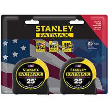 Stanley Consumer Tools FMHT74038 Fatmax Tape Measure, 25-Ft., 2-Pk.