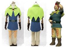 Skyward Sword Legend of Zelda Groose Cosplay Costume:free shipping