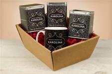 Personalised Tea Lovers Hamper Gift Set - Traditional Modern Floral Poppy Design