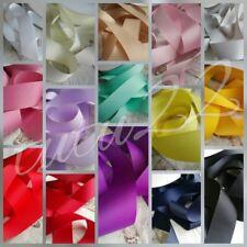 Solid Grosgrain Ribbon Premium Quality Crafts mum to be bridal sash 38mm wide