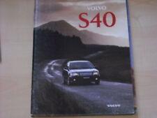 26828) Volvo S40 S 40 Prospekt 1996