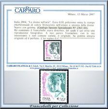 Repubblica Varietà Donna Arte Senza Oro n. 2363 Ab Cert