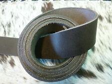 Cinghia in Pelle Cintura spada latigoriemen Grasso Pelle 90 - 250 CM x 4 cm MARRONE SCURO