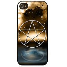 Pentagrama Estrella símbolo pagano bruja Tatuaje 5 punto Gráfico De Estrellas Cubierta Estuche Teléfono