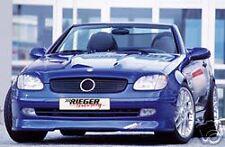 Mercedes Genuine Rieger SLK R170 Front Spoiler Lip NEW
