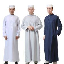 hommes Islamique Musulman dishdasha arabe caftan abaya robe Maxi Longue robe