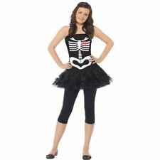 Halloween Kinder Kostüm Skelett Tutu Teenager