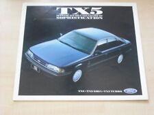 26331) Ford TX5 Übergröße Australien Prospekt 1987