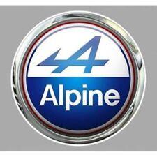 Sticker ALPINE RENAULT Trompe l'oeil