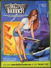 2009 motorcycle magazine ad for' Big City Thunder'  -050912