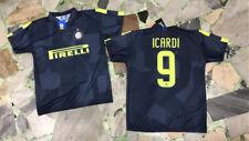 1 MAGLIA ICARDI 9 INTER UFFICIALE FC INTERNAZIONALE THIRD JERSEY 2018