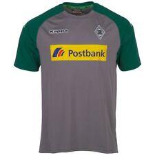 Kappa Mens Football Borussia Mönchengladbach BMG Training Jersey Shirt Grey  ...