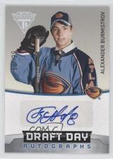 2011-12 Panini Titanium Draft Day Autographs #14 Alexander Burmistrov Auto Card