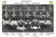 SCOTLAND 1934 (v Ireland, 24th February) RUGBY TEAM PHOTOGRAPH