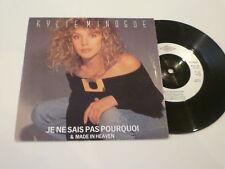 "KYLIE - Je Ne Sais Pas Pourquoi - Scarce 1988 UK 7"" Vinyl Single"