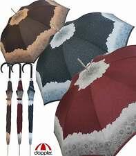Doppler Damen Regenschirm groß stabil sturmsicher Automatik Apart Borte