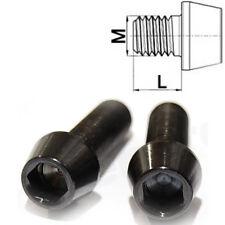 Titan vis m10 x 20-50 Conique DIN 912 grade 5 Noir