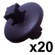 20x 8mm Plastic Trim Clip Peugeot Interior 206 307 407