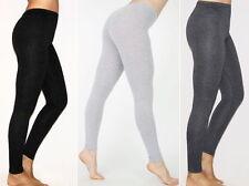 NEW Cotton/Spandex Long Solid Basic Leggings- L/XL/1X