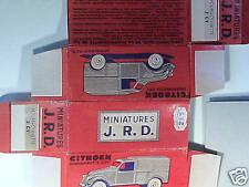 REPLIQUE BOITE CITROEN 2CV FOURGONETTE 1955 JRD