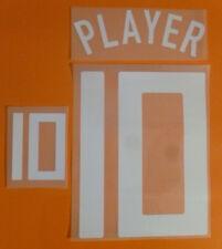Set Flock Nameset home Trikot jersey shirt Niederlande Netherlands elftal 2008